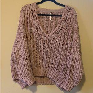 Free people lilac sweater